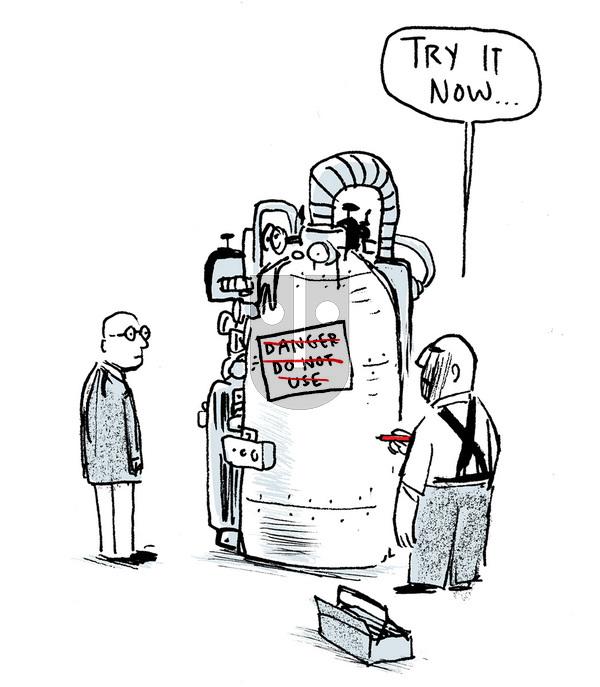 Berger & Wyse on Monday November 13, 2017 Comic Strip