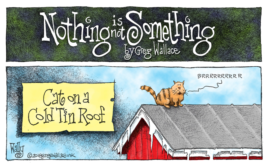Nothing is Not Something by Greg Wallace for December 30, 2018