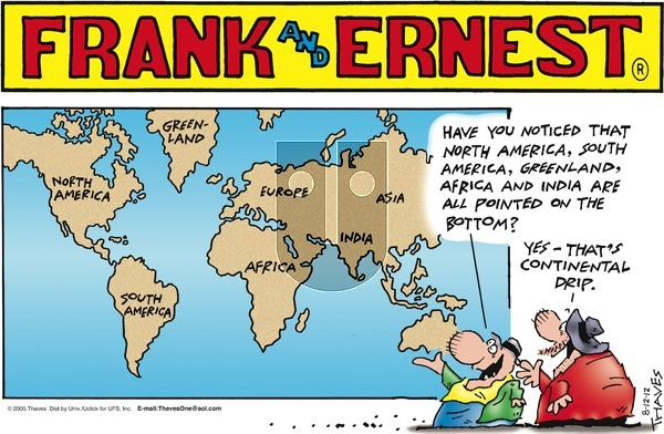 Frank and Ernest on Sunday August 12, 2012 Comic Strip