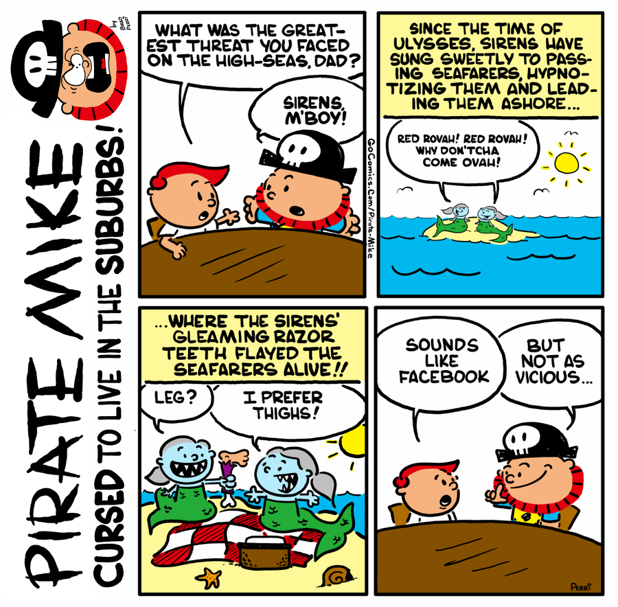 Pirate Mike by Brad Perri on Fri, 22 May 2020