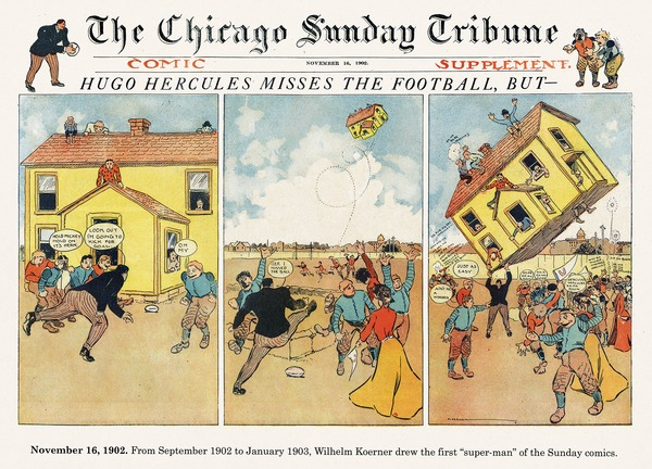 Origins of the Sunday Comics
