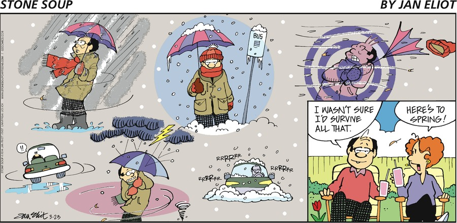 Stone Soup Comic Strip for March 23, 2014