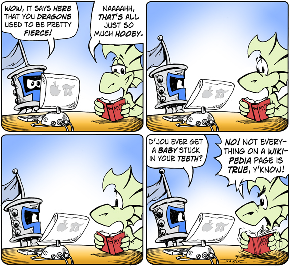 MythTickle Comic Strip for January 27, 2010