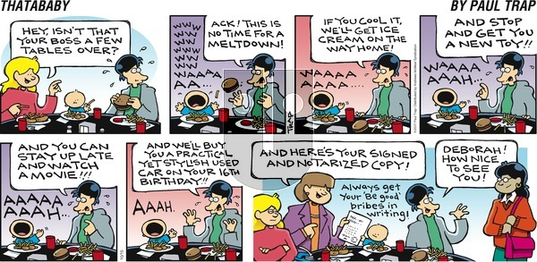 Thatababy on Sunday October 15, 2017 Comic Strip