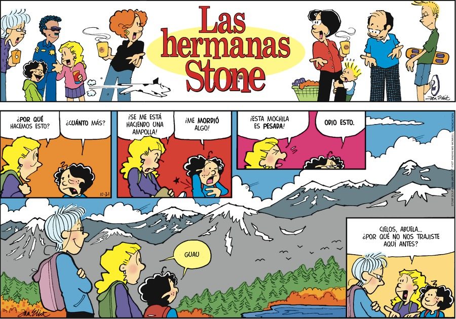 Las Hermanas Stone by Jan Eliot for October 21, 2018