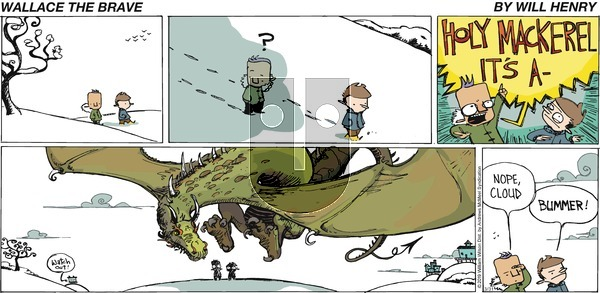 Wallace the Brave on Sunday March 31, 2019 Comic Strip