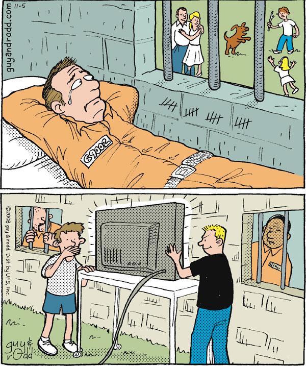 Brevity for Nov 5, 2008 Comic Strip