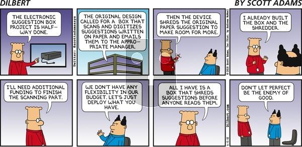 Dilbert - April 15, 2018 Comic Strip