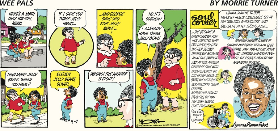 Wee Pals Comic Strip for September 07, 2014