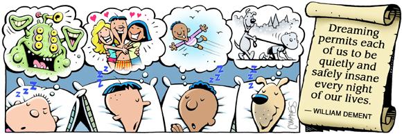 Brain Squirts Comic Strip for April 04, 2019