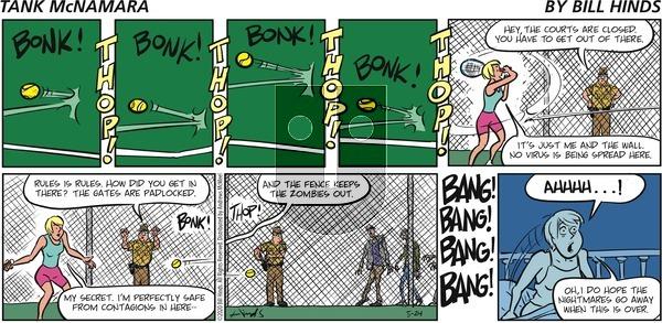 Tank McNamara on Sunday May 24, 2020 Comic Strip