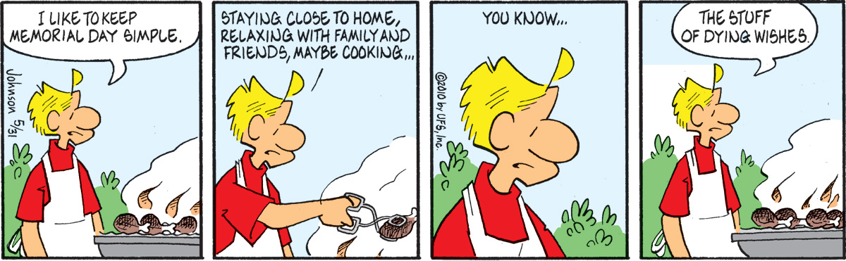 Arlo and Janis Comic Strip for May 31, 2010