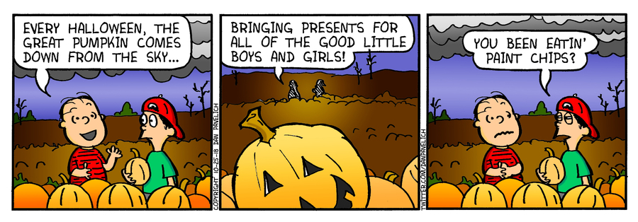 Just Say Uncle Comic Strip for October 17, 2019