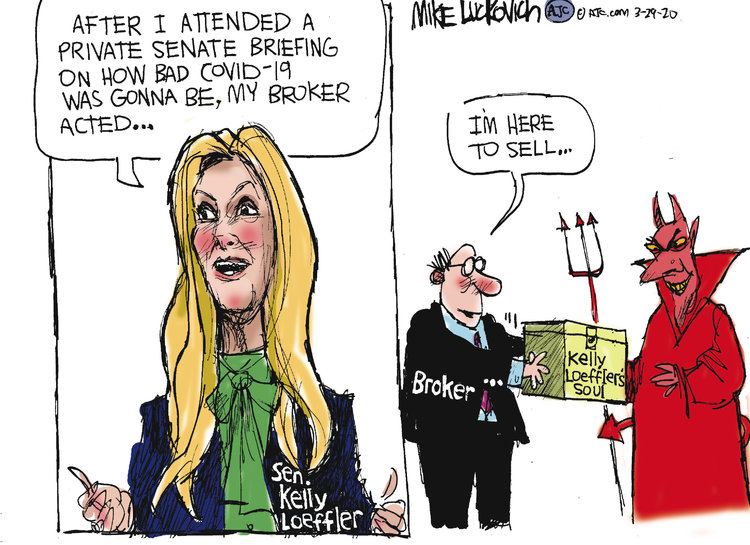 Mike Luckovich Comic Strip for March 29, 2020