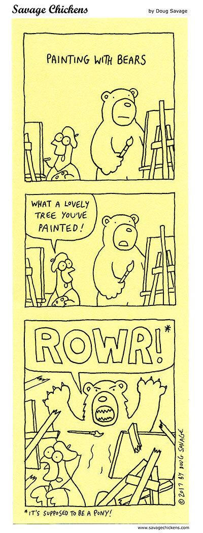 Savage Chickens Comic Strip for June 10, 2021