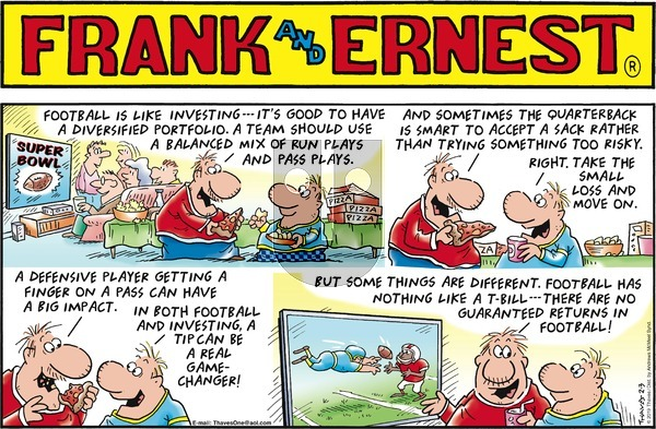 Frank and Ernest on Sunday February 3, 2019 Comic Strip
