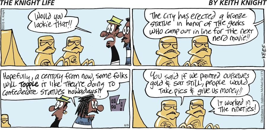 The Knight Life Comic Strip for June 09, 2019