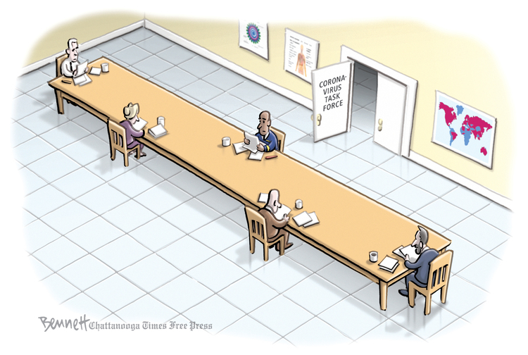 Clay Bennett Comic Strip for March 15, 2020
