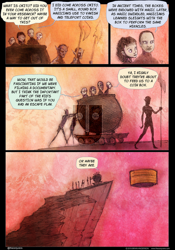 The Conjurers on Monday January 6, 2020 Comic Strip