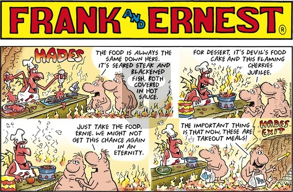 Frank and Ernest on Sunday June 7, 2020 Comic Strip
