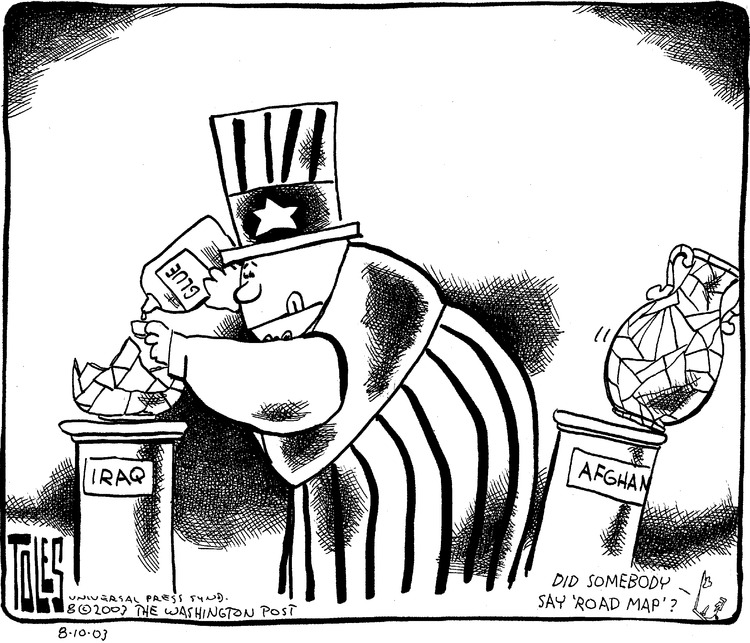 Tom Toles for Aug 10, 2003 Comic Strip