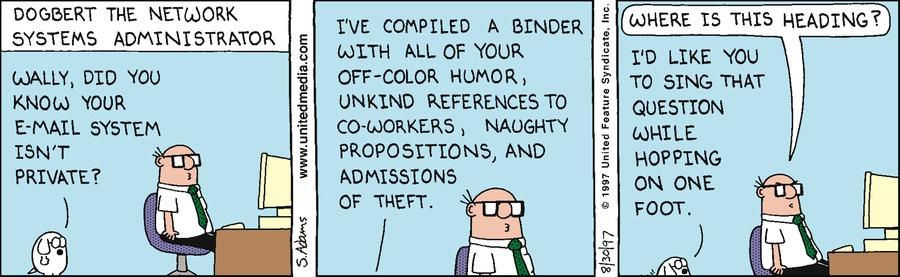 Dilbert Classics Comic Strip for August 01, 2021