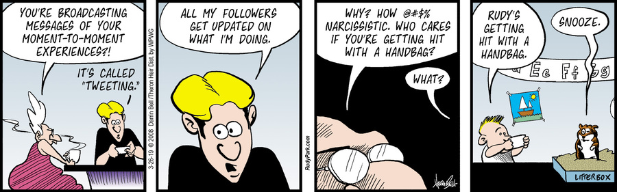 Rudy Park Comic Strip for March 26, 2019