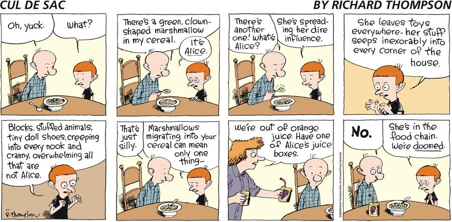 Cul de Sac for Jun 21, 2009 Comic Strip