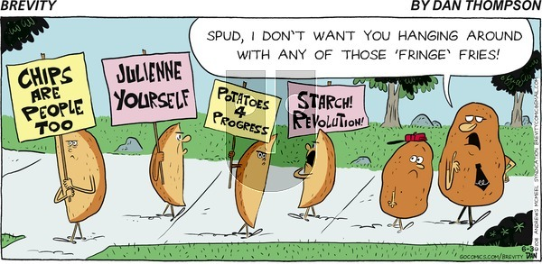 Brevity on June 3, 2018 Comic Strip