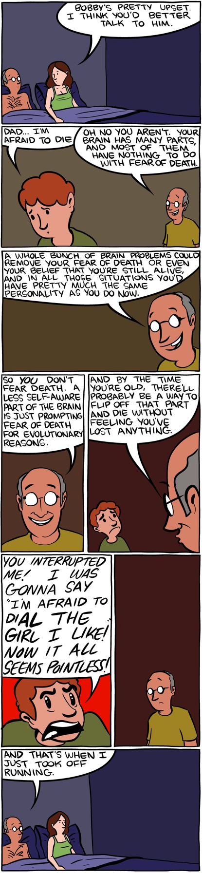 Saturday Morning Breakfast Cereal Comic Strip for July 27, 2014