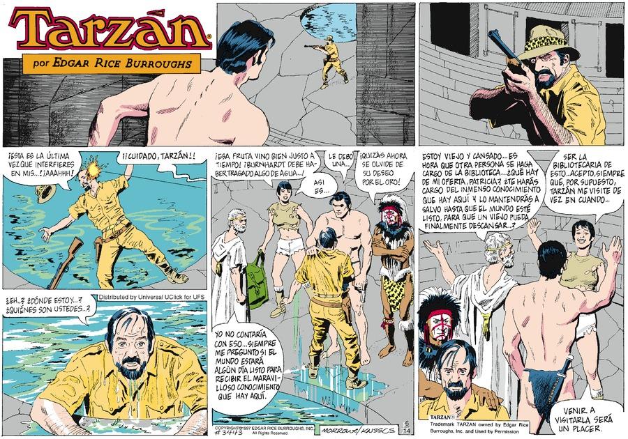 Tarzan en Español Comic Strip for June 14, 2015