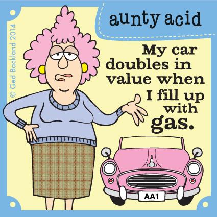 Aunty Acid for Aug 4, 2014 Comic Strip