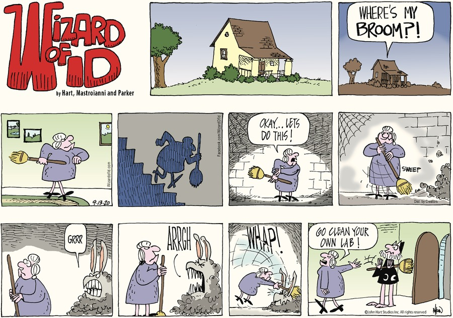 Wizard of Id Comic Strip for September 13, 2020