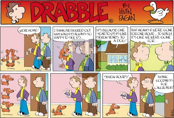 Drabble on Sunday April 24, 2016 Comic Strip