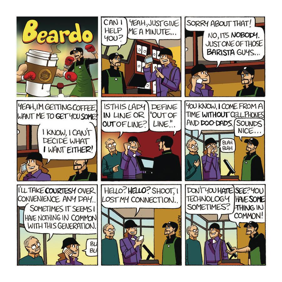 Beardo Comic Strip for July 21, 2019