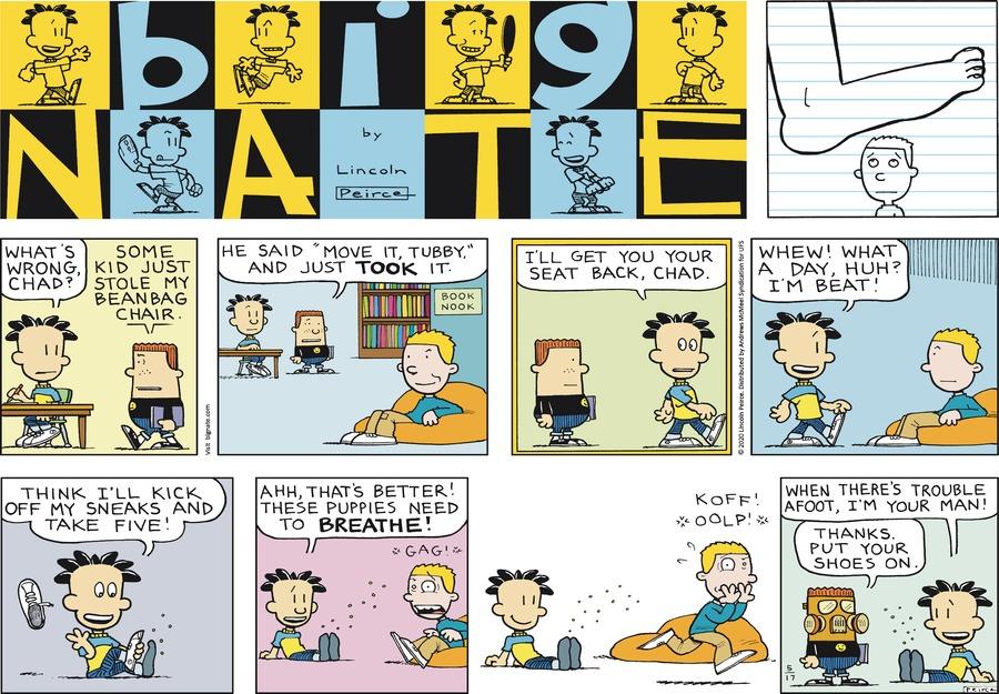 Big Nate Comic Strip for May 17, 2020