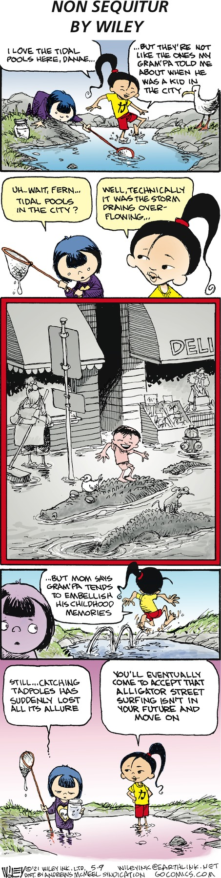 Non Sequitur Comic Strip for May 09, 2021