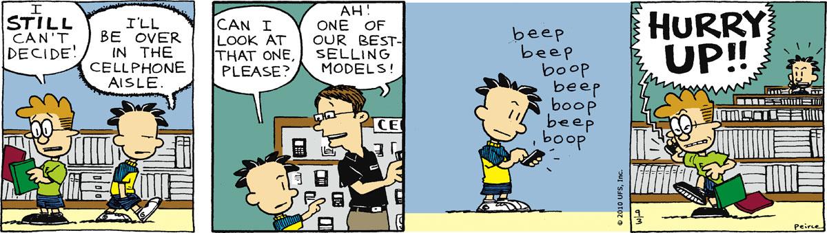 Big Nate Comic Strip for September 03, 2010