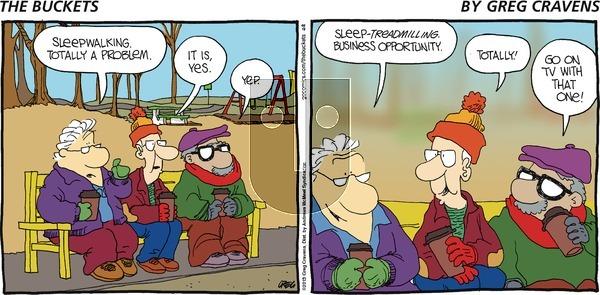 The Buckets on Sunday January 13, 2019 Comic Strip