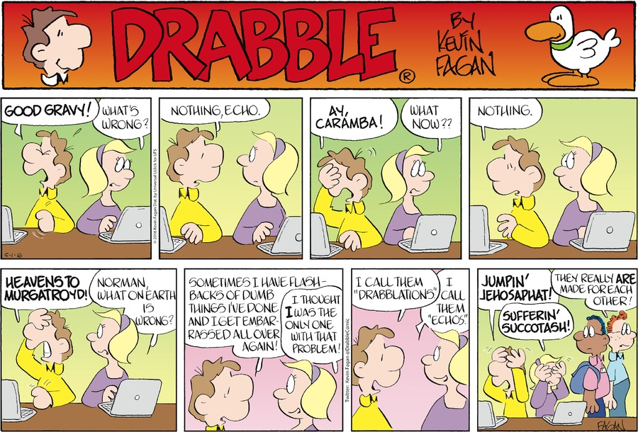 Drabble Comic Strip for May 01, 2016