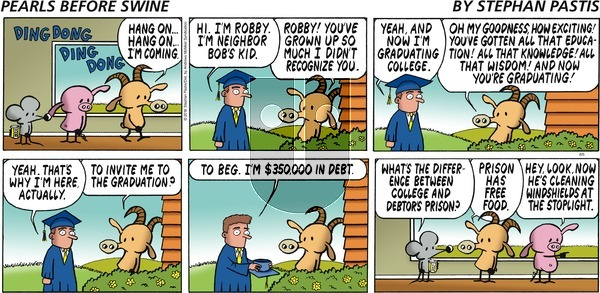 Pearls Before Swine on Sunday August 5, 2018 Comic Strip