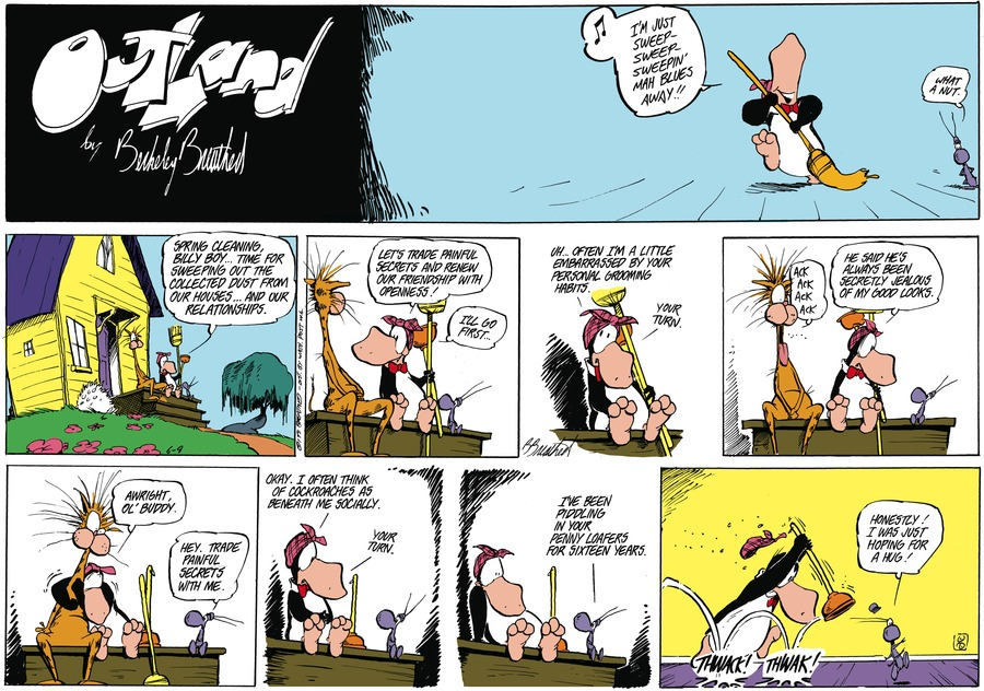 Outland Comic Strip for July 19, 2021