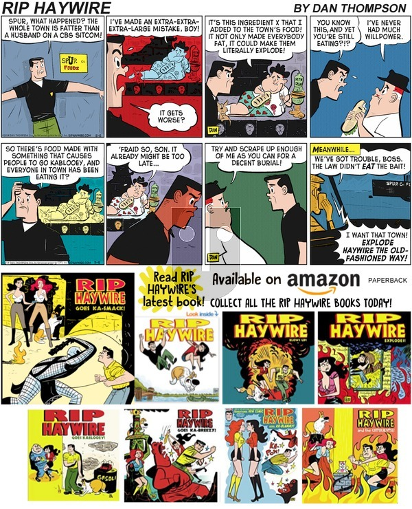 Rip Haywire on Sunday March 24, 2019 Comic Strip