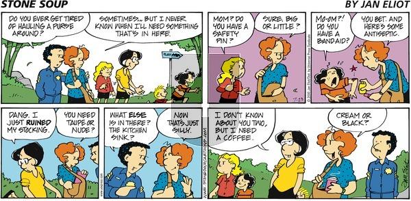 Stone Soup on Sunday July 23, 2000 Comic Strip
