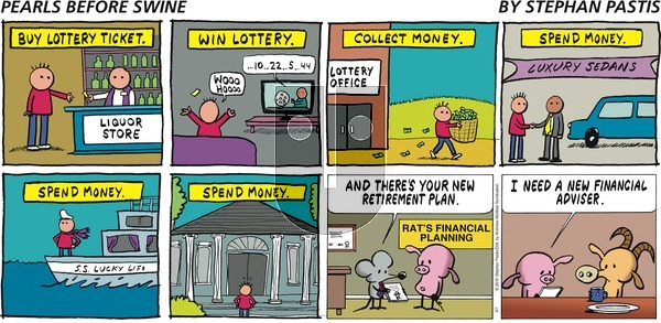 Pearls Before Swine on Sunday April 7, 2019 Comic Strip