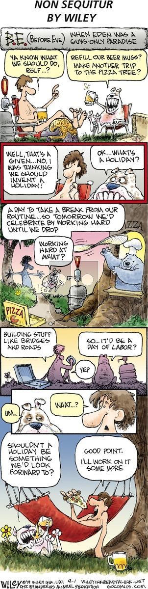 Non Sequitur on Sunday September 1, 2019 Comic Strip
