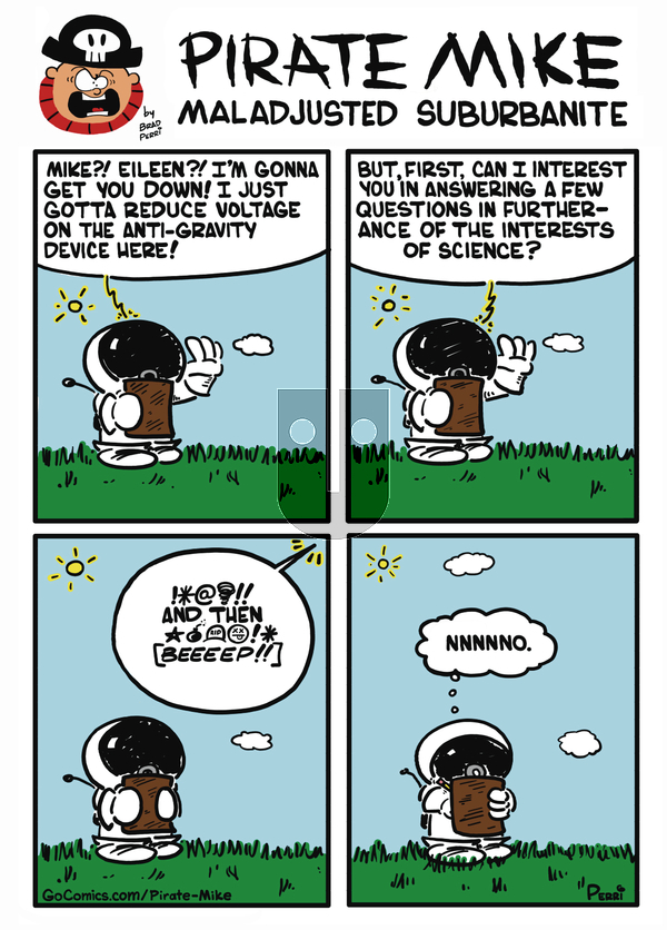 Pirate Mike - Wednesday October 9, 2019 Comic Strip