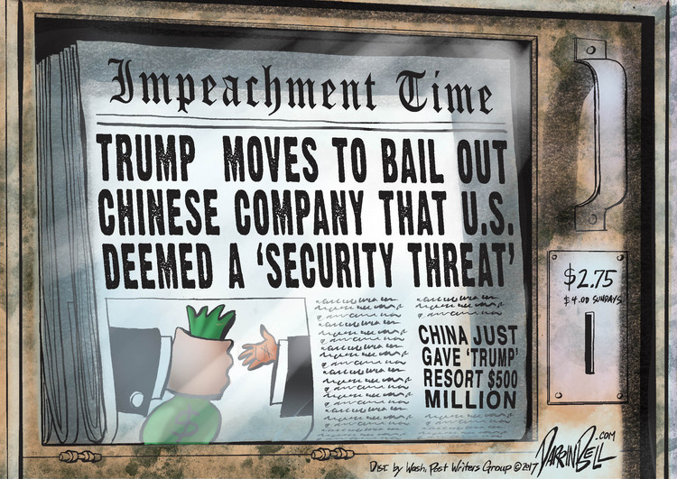 Darrin Bell for May 17, 2018 Comic Strip