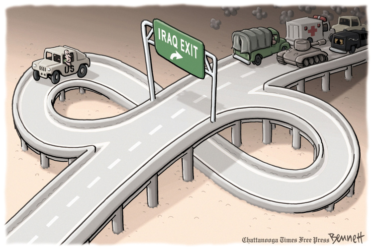 Clay Bennett for Jun 24, 2014 Comic Strip