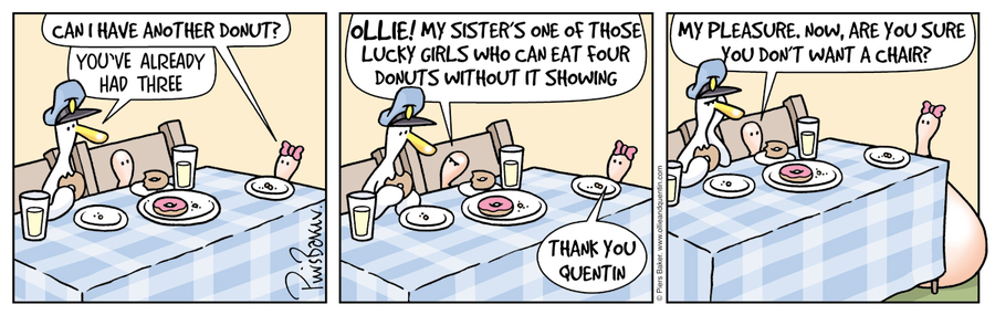 Ollie and Quentin Comic Strip for November 30, 2020